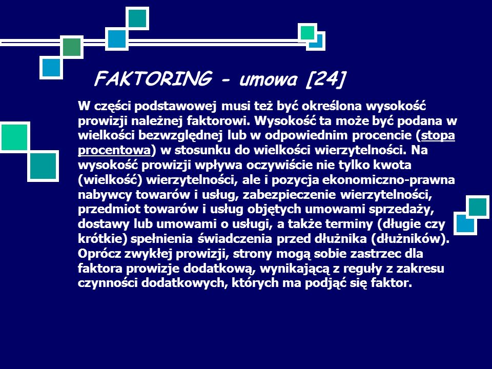 FAKTORING - umowa [24]